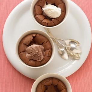 Warm Chocolate Puddings
