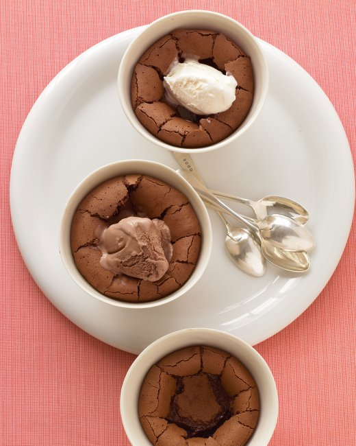 Warm Chocolate Puddings