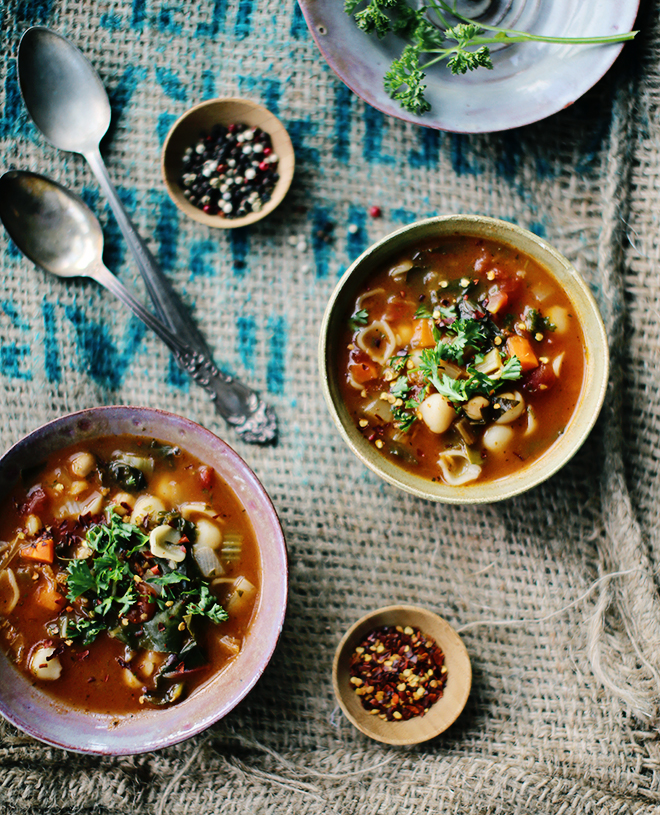 Rustic Vegetable Chickpea Soup