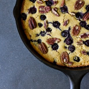 Blueberry Pecan Cornbread