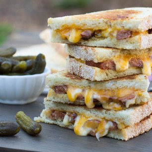 Cajun Grilled Cheese