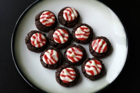 Fudge Kiss Cookies
