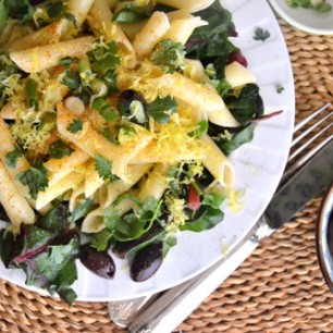Swiss Chard Lemon Pasta