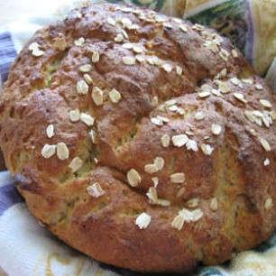 Artisan Maple Oat Bread