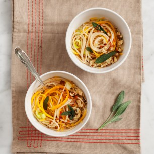 Butternut Squash Noodle Pasta