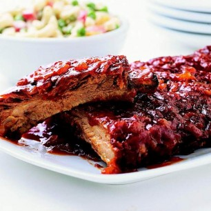 Honey 'n' Orange Back Ribs