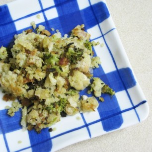 Quinoa Fritters or Scramble