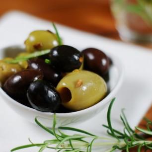 Warm Rosemary Olives