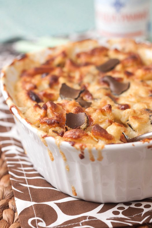 Black Truffle Macaroni and Cheese