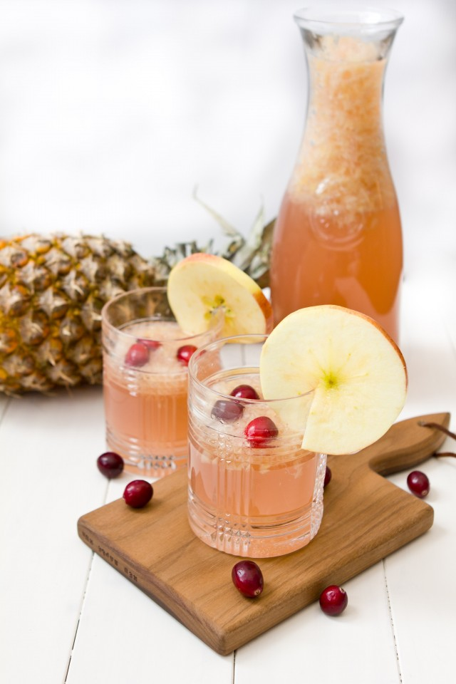 Pink Lemonade Fruit Punch