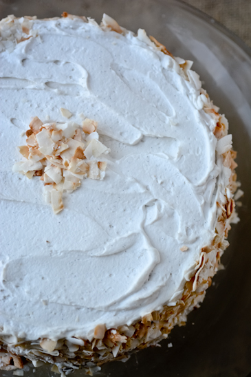 Vegan Carrot Cake with Coconut Whipped Cream